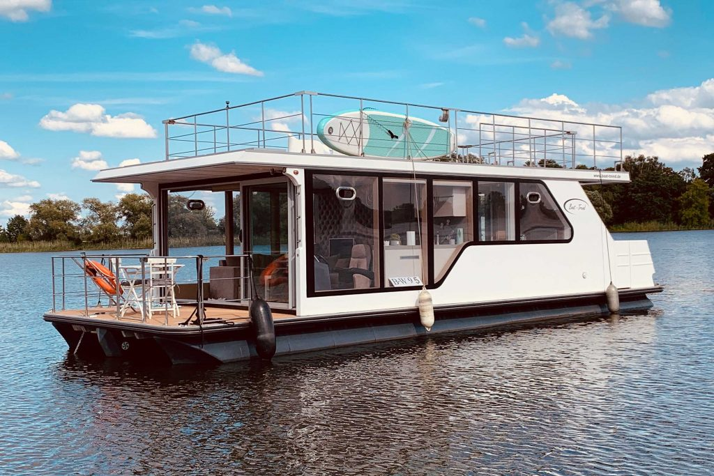Hausboot auf dem Havelsee